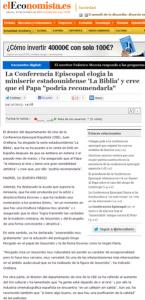"""""""La Biblia"""" en El Economista"""