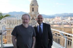Ridley Scott y Carlos Rosado para web