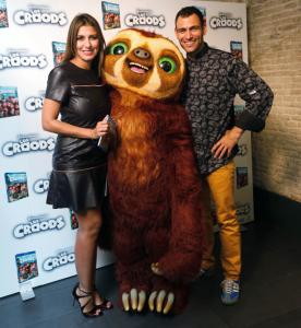 Los Croods, Darío Barrio y Silvia Casas