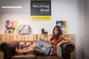 Raquel del Rosario amadrina Walking Mum
